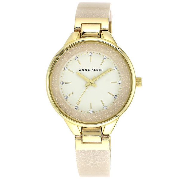 Anne Klein Elegant Gold Ladies Watch - AK1408CRCR