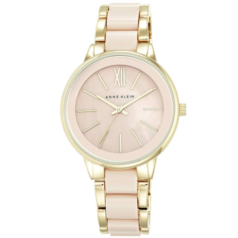 Anne Klein Peach Ladies Watch - AK1412BMGB