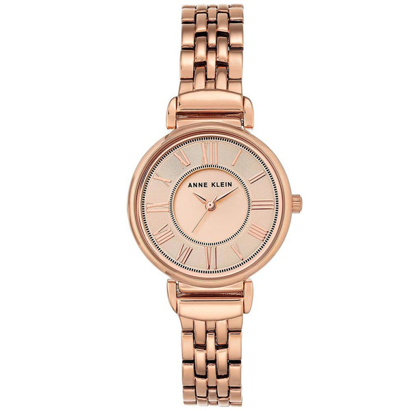 Anne Klein Rose Gold Stainless Steel  Ladies Watch - AK2158RGRG