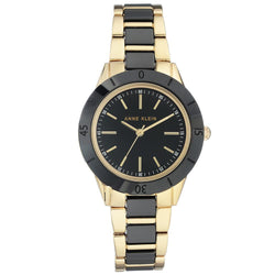 Anne Klein Casual Ceramic Ladies Watch - AK3160BKGB