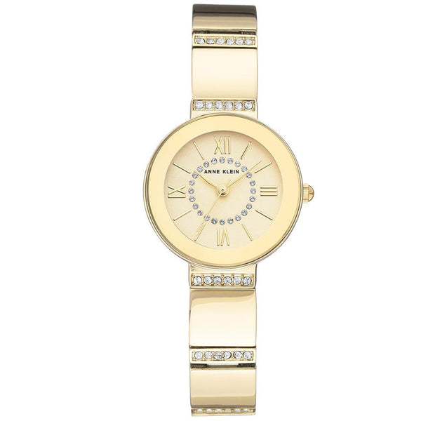 Anne Klein Swarovski Crystal Accents Ladies Watch - AK3190CHGB
