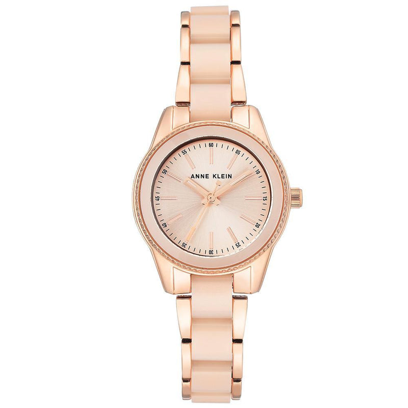 Anne Klein Elegant Rose Gold Ladies Watch - AK3212LPRG