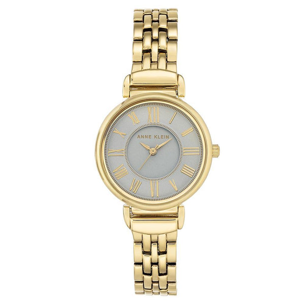 Anne Klein Gold-tone Bracelet Ladies Watch - AK2158GYGB