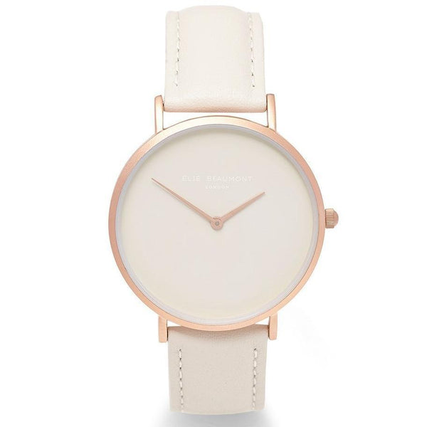 Elie Beaumont Hoxton Leather Women's Watch - EB815.6