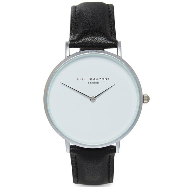 Elie Beaumont Hoxton Minimalist Leather Women's Watch - EB815.7