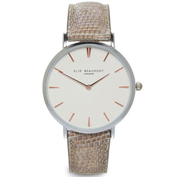 Elie Beaumont Sloane Silver Ladies Watch - EB819.1