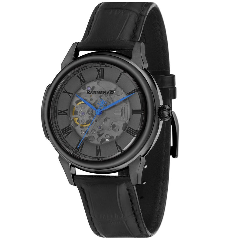Earnshaw Observatory Automatic Leather Men's Watch - ES-8805-02