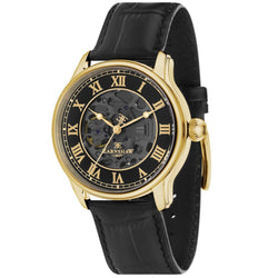 Earnshaw Longitude Automatic Leather Men's Watch - ES-8807-02