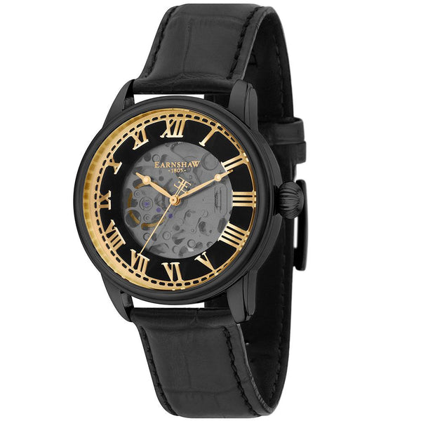 Earnshaw Precisto Longitude Skeleton Men's Watch - ES-8808-03