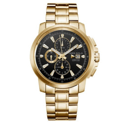Aries Gold Contender Gold Stainless Steel Men's Watch - G7301 G-BK