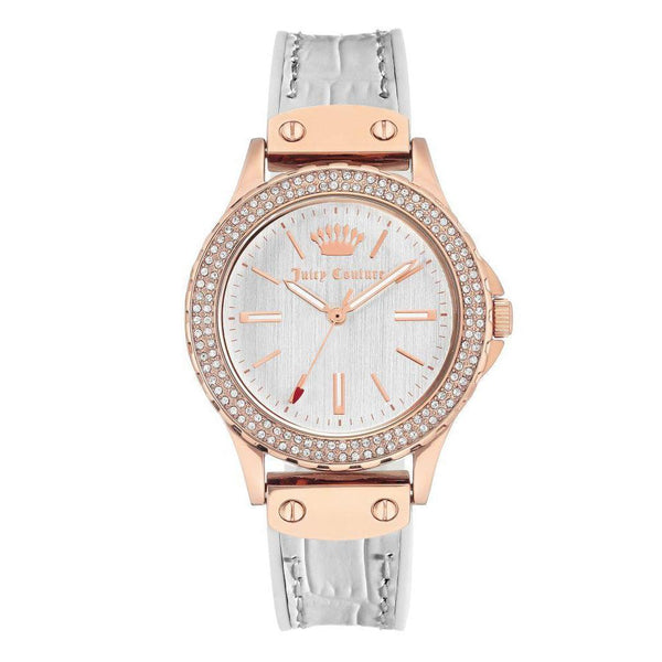 Juicy Couture Rose Gold with Swarovski Crystals Ladies Watch - JC1008RGWT
