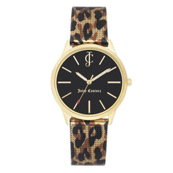 Juicy Couture Gold Mesh Ladies Watch - JC1014GPLE