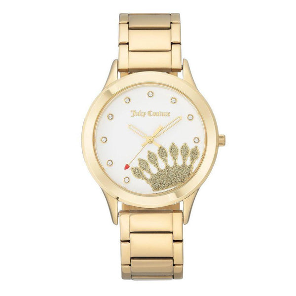 Juicy Couture Gold Steel Ladies Watch - JC1052WTGB