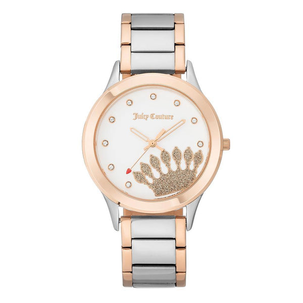 Juicy Couture Two-Tone Bracelet Ladies Watch - JC1053WTRT