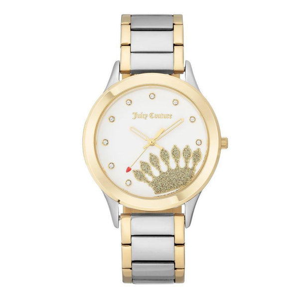 Juicy Couture Two-Tone Bracelet Ladies Watch - JC1053WTTT