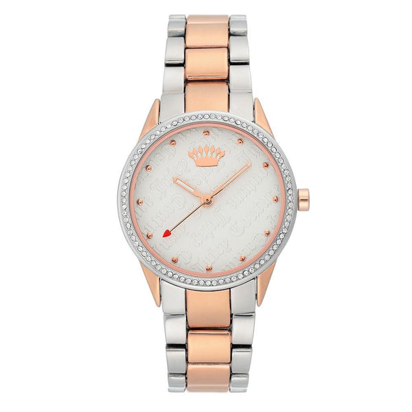 Juicy Couture Two-Tone with Swarovski Crystals Ladies Watch - JC1175SVRT