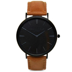 Mr Beaumont Brown Leather Men's Watch - MB1801.7