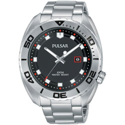 Pulsar Sports Stainless Steel Men's Watch -  PG8279X