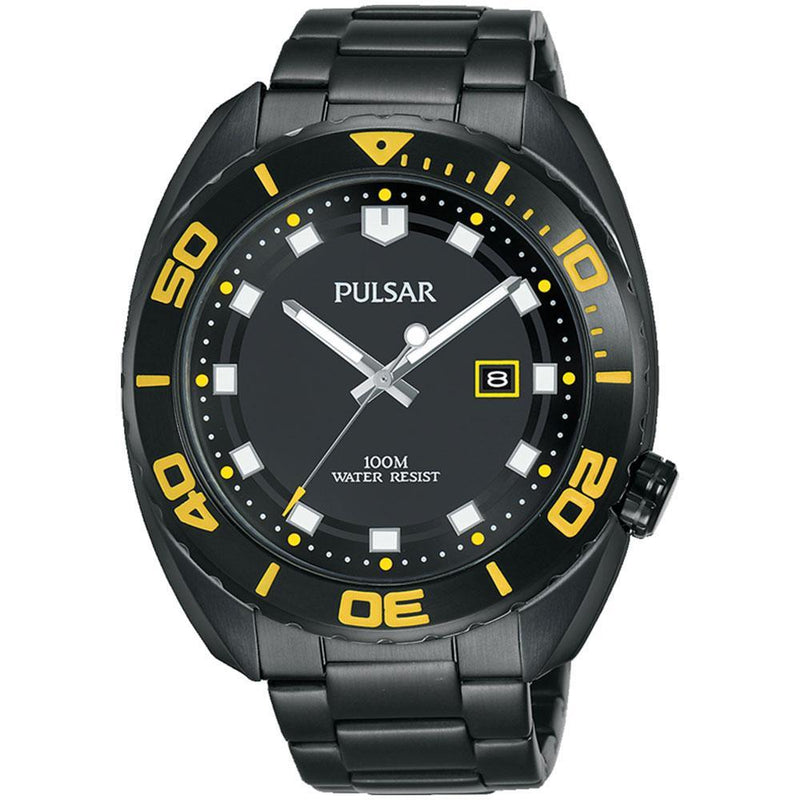 Pulsar Sports Stainless Steel Men's Watch -  PG8285X