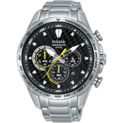 Pulsar Supercars Stainless Steel Men's Watch -  PT3979X