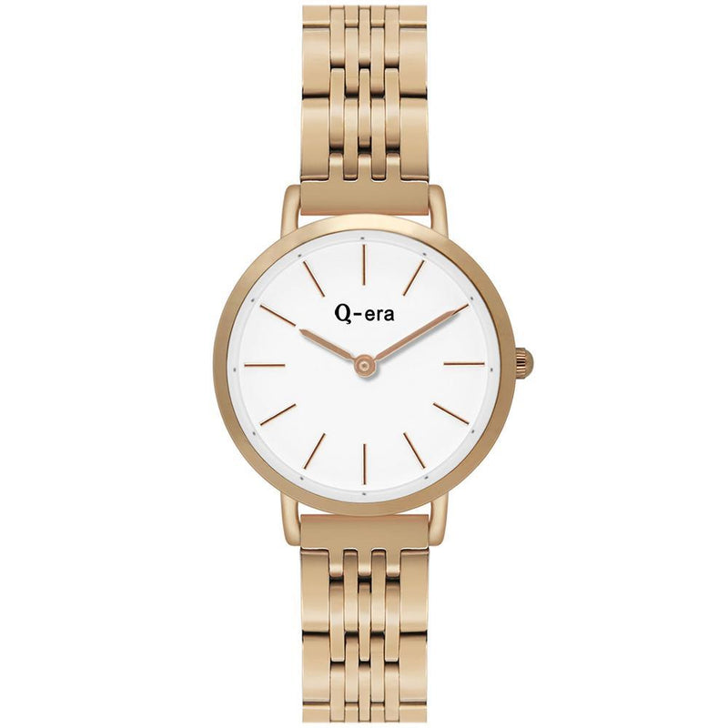 Q-Era Rose Gold  Steel Women's  Watch - QV2803-39