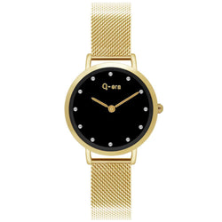 Q-Era Gold Mesh Women's  Watch - QV2803-70