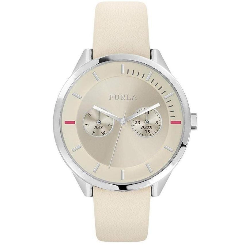 Furla Metropolis Ivory Leather Women's Watch - R4251102547