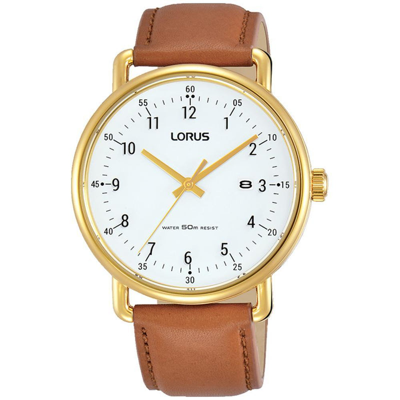 Lorus Dress Gold & Yellow Men's Watch -  RH908KX-9