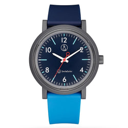 Q&Q SmileSolar Dual Blue Solar Unisex Watch - RP12J011Y