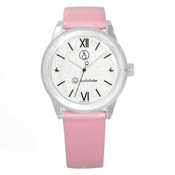 Q&Q Smilesolar Pink Unisex Watch - RP18J004Y