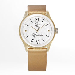 Q&Q Smilesolar Gold Unisex Watch - RP18J005Y