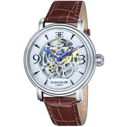 Earnshaw LONGCASE Automatic Leather Mens Watch - ES-8011-01