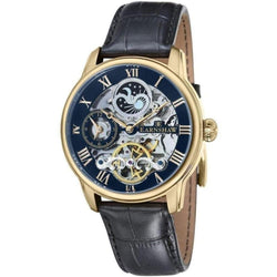 Earnshaw Longitude Leather Automatic Mens Watch - ES-8006-05