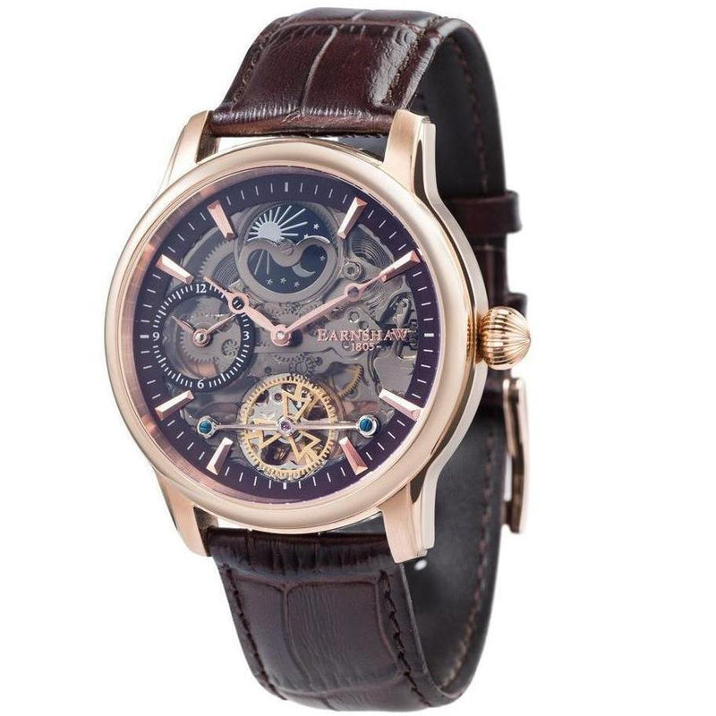 Earnshaw Longitude Shadow Automatic Men's Watch - ES-8063-06