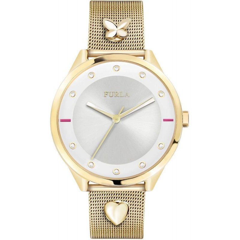 Furla Gold Mesh Ladies Watch - R4253102523
