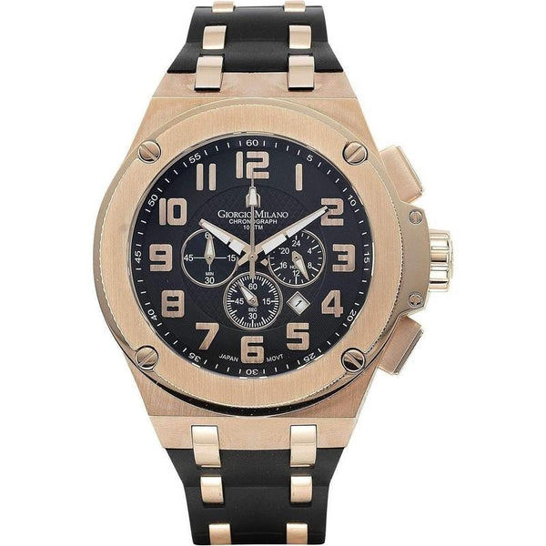 Giorgio Milano Chronograph Rubber Mens Watch - 928rg0313