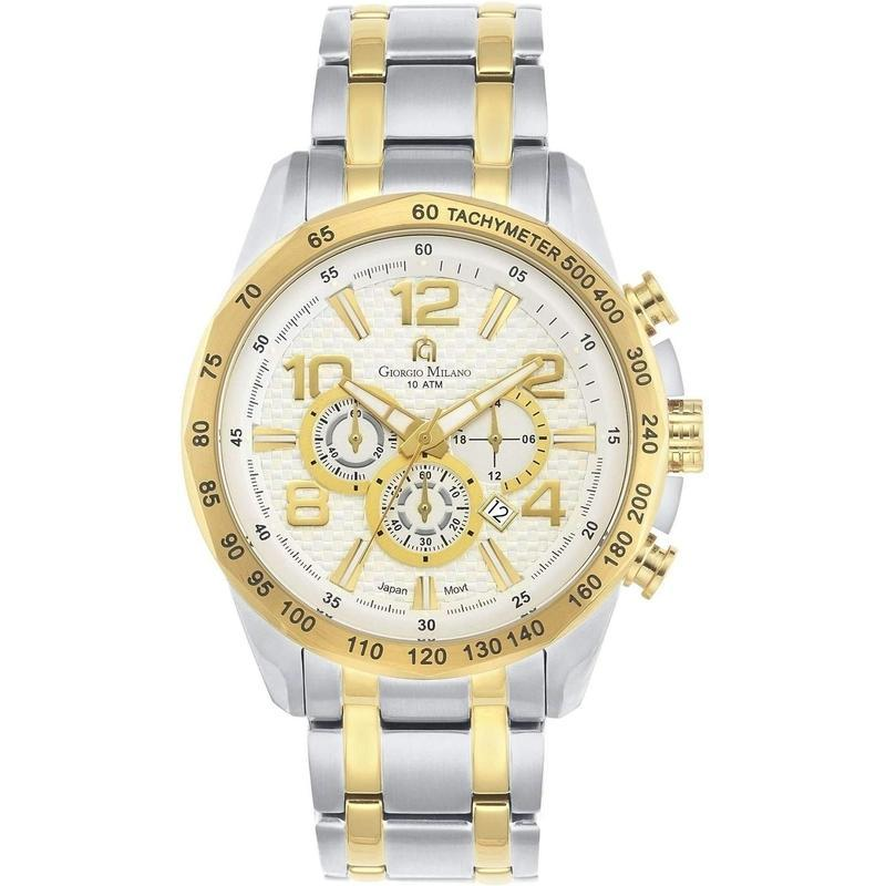 Giorgio Milano Chronograph Stainless Steel Mens Watch - 980STG02