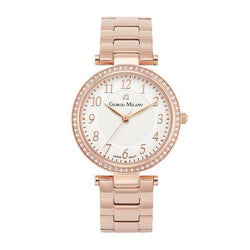 Giorgio Milano Rose Gold Ladies Watch - 204RG2