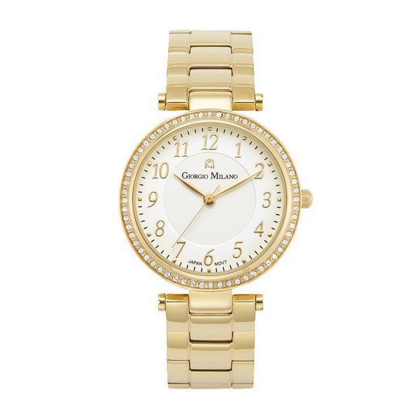 Giorgio Milano Stainless Gold Ladies Watch - 204SG2