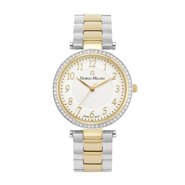 Giorgio Milano Stainless Gold Ladies Watch - 204STG2