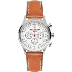 Jack Mason Nautical Chronograph Leather Ladies Watch - JM-N202-002