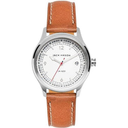 Jack Mason Nautical Leather Mens Watch - JM-N201-001