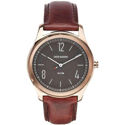 Jack Mason Slim Leather Mens Watch - JM-S101-102
