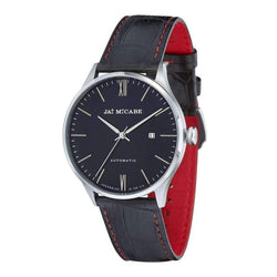 James McCabe London Automatic Leather Mens Watch - JM-1025-01