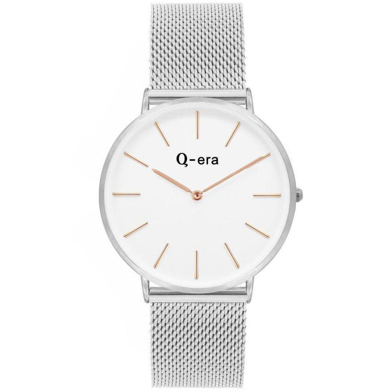 Q-era Silver Mesh Women's Watch - QV2804-37