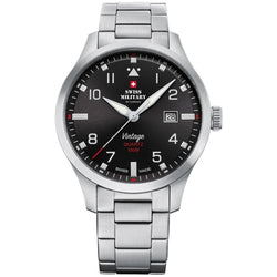 Swiss Military Stainless Steel Men's Watch  - SM34078.01