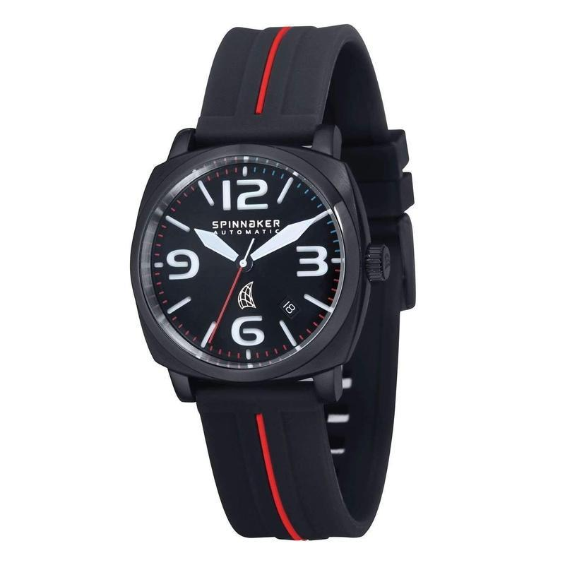 Spinnaker Hull Automatic Silicone Mens Watch - SP-5020-04