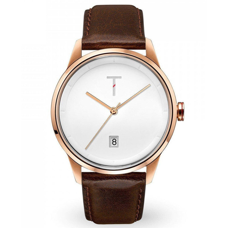 Tylor Cali Vibe Leather Men's Watch - TLAB004