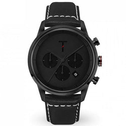 Tylor Tribe Leather Men's Watch - TLAC006