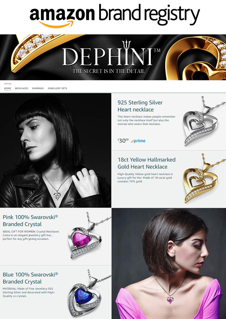 dephini amazon brand registry